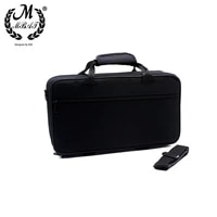 m mbat clarinet gig carry bag black foam padded thicken oxford cloth box case with handle strap clarinet protection accessories
