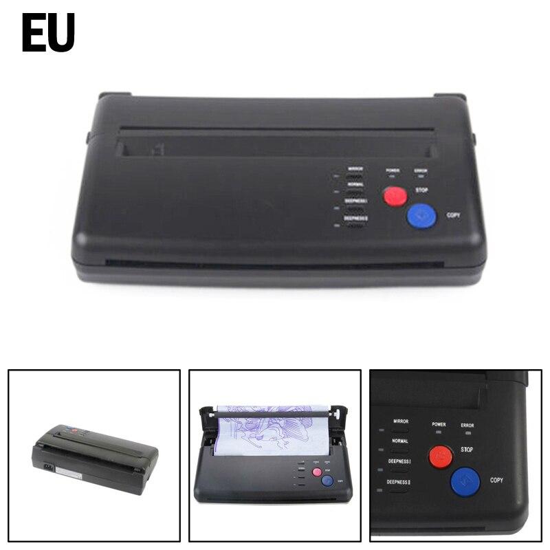 Artudatech impressora de transferência de tatuagem, máquina copiadora térmica de papel estêncil
