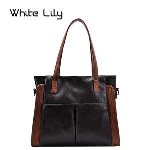 2020 New Women Retro Tote Bag Messenger Handbag Designer High Quality Soft PU Leather Shoulder Bag Big Casual Crossbody Bag
