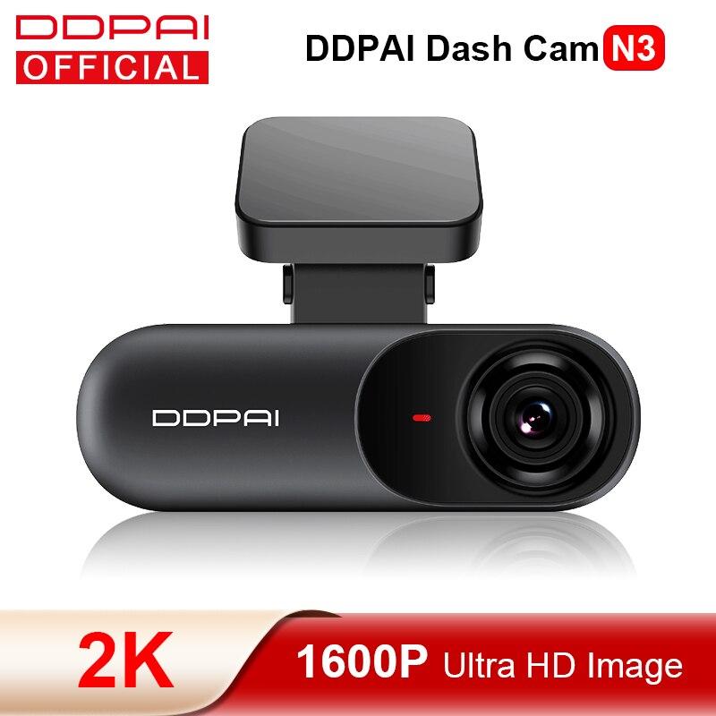 DDPAI Dash Cam мола N3 1600P HD GPS автомобильный приводной Авто цифровой видеозаписи (DVR) 2K смарт подключения Android Wifi Автомобильный Камера Регистраторы ...