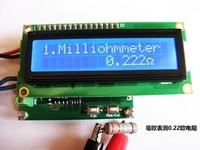 Milliohmmeter Low Resistance Tester Ohmmeter