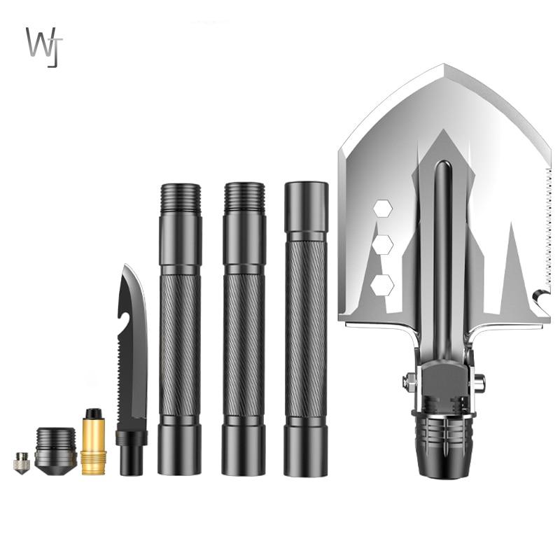 Karinis taktinis daugiafunkcinis kastuvas, lauko įrankiai kempingams - Sodo įrankiai - Nuotrauka 2
