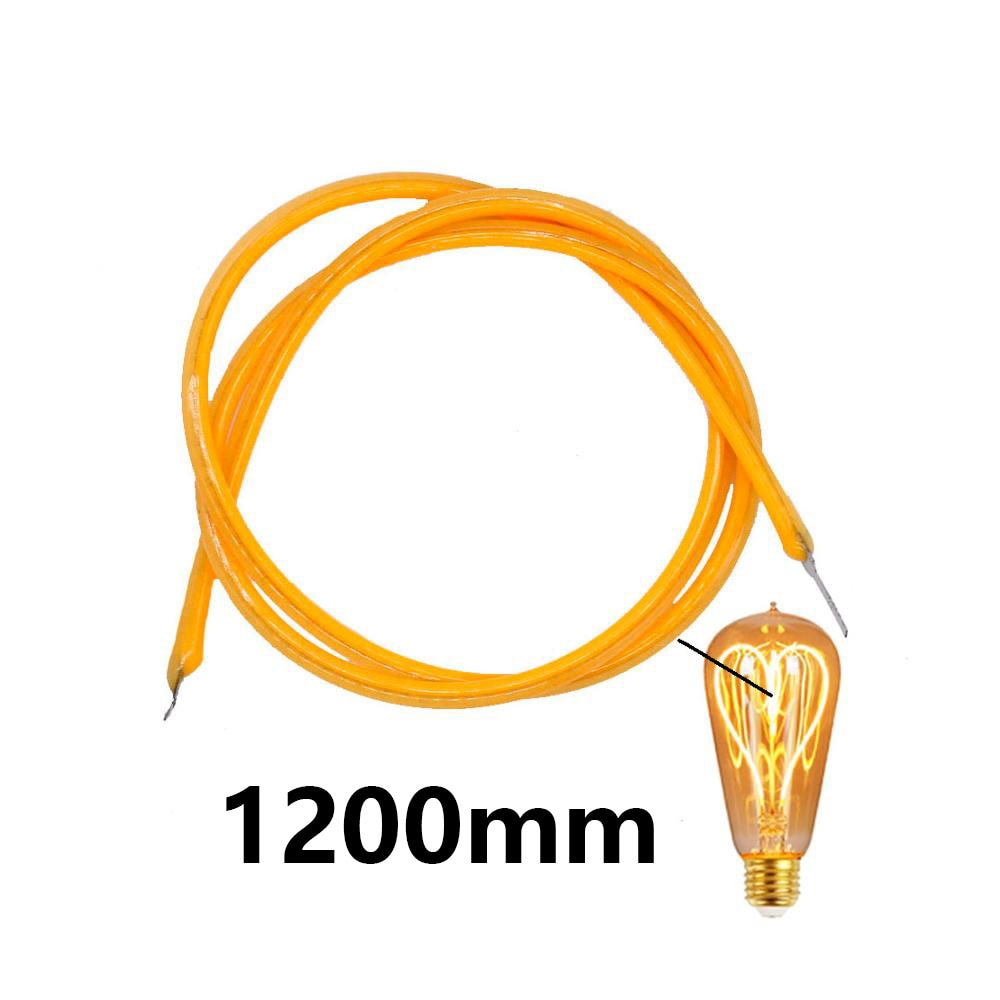 DC24V 1200mm 2200K Edison Bulb Filament Lamp Parts 950mm DC22V LED Chip Incandescent Light Accessories Diodes Flexible Filament