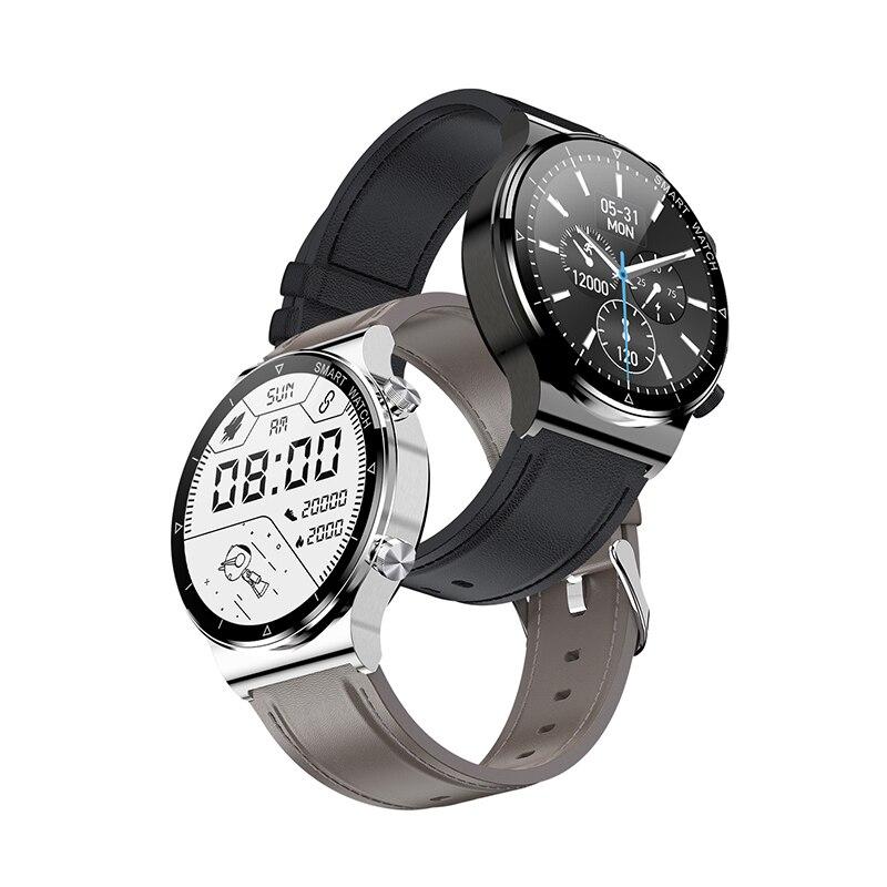 ساعة ذكية للرجال والنساء من POVERKIN طراز عام 2021 ساعة ذكية IP68 مقاومة للماء للياقة البدنية مزودة بجهاز تتبع طراز GT2 لهاتف Apple Huawei شاومي وأندرويد