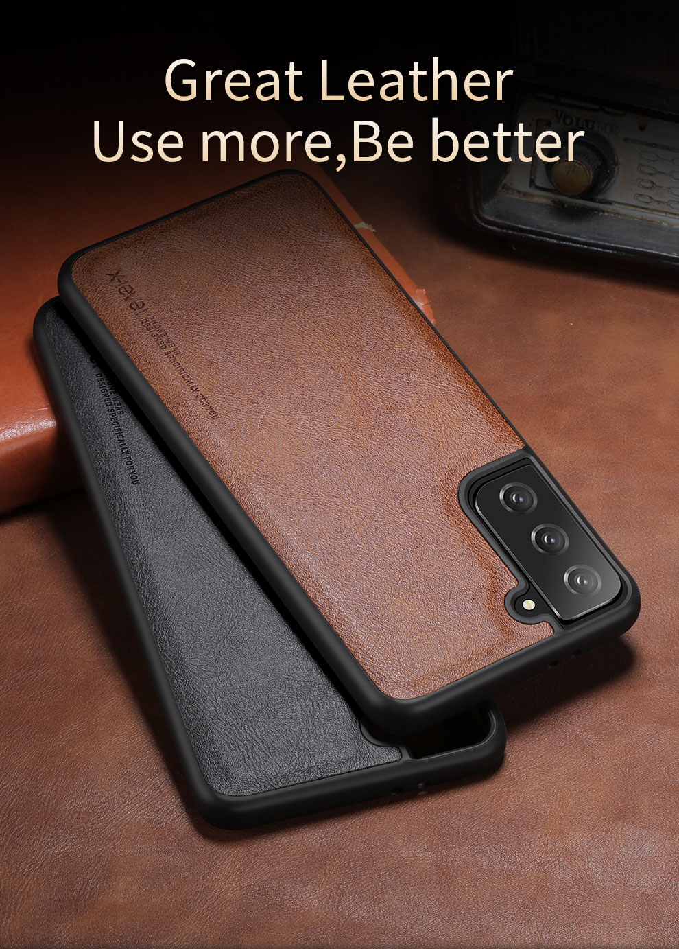 Galaxy S21 Plus Leather Case 5