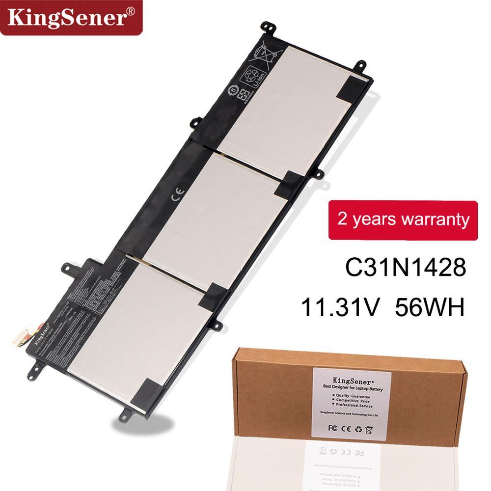 KingSener nuevo C31N1428 batería de portátil para Asus Zenbook UX305L UX305LA UX305UA C31N1428 3ICP5/91/91/11,31 V 56WH