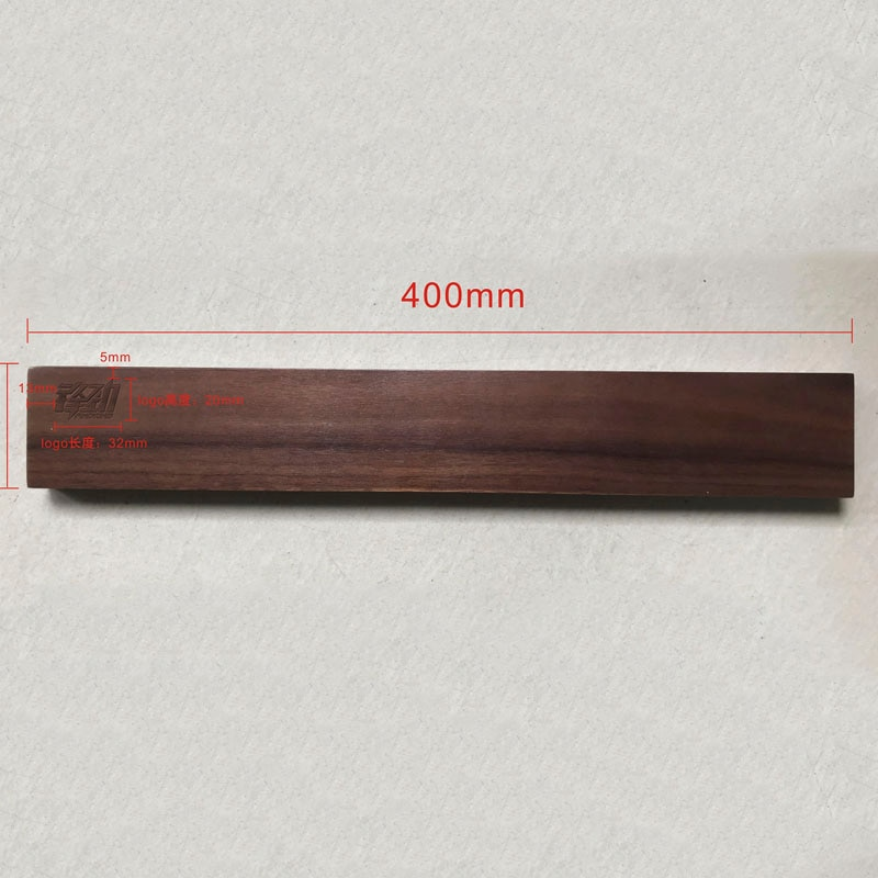 Купить с кэшбэком Wooden Magnetic Knife Holder 18 inch Kitchen Knives Stand Bar Strip Wall Magnet Block For Knives Storage Cooking Accessories #1