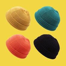 Tj-tingjun chapeau en peau de Melon   Chapeau en tricot mince dété, fil de propriétaire à coins, Hipster Hip Hop chapeau jour marin ordinaire, chapeau polyvalent 059