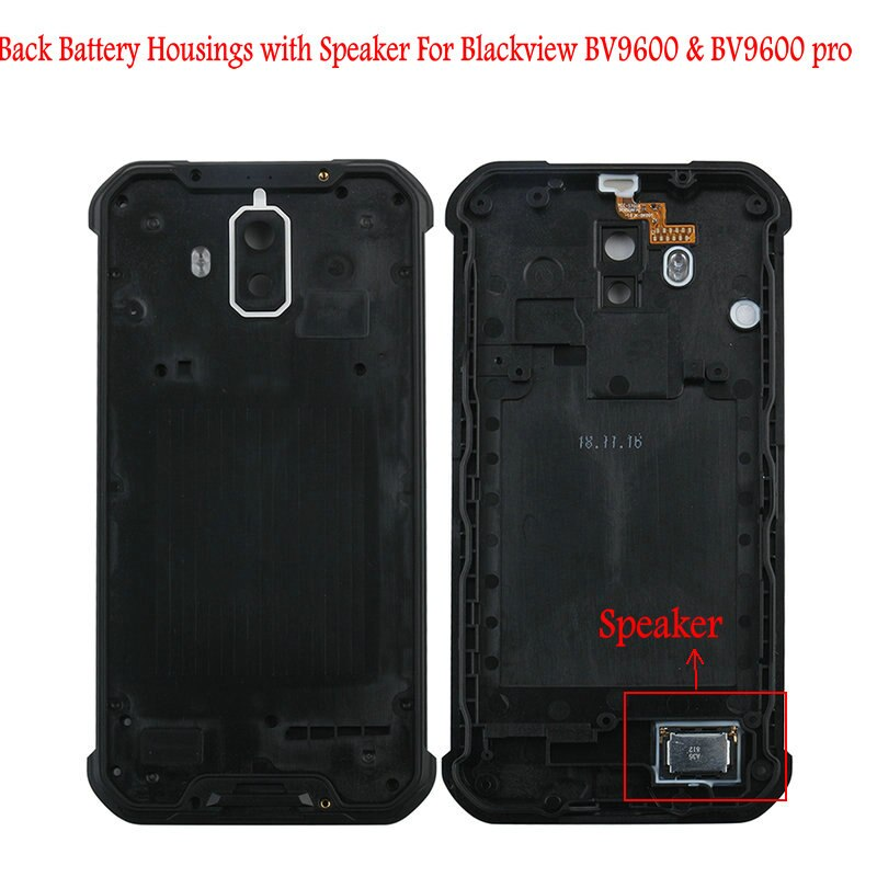 For Original Blackview BV9600 Battery Housings Door Cover Speaker Back Glass IP68 Metal Panel Bateria Case Screws For BV9600 Pro enlarge