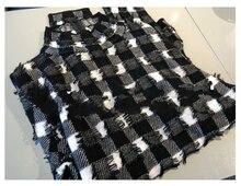 Senior Lattice Relief Texture Sheep Camel Small High Lead Sweater ~