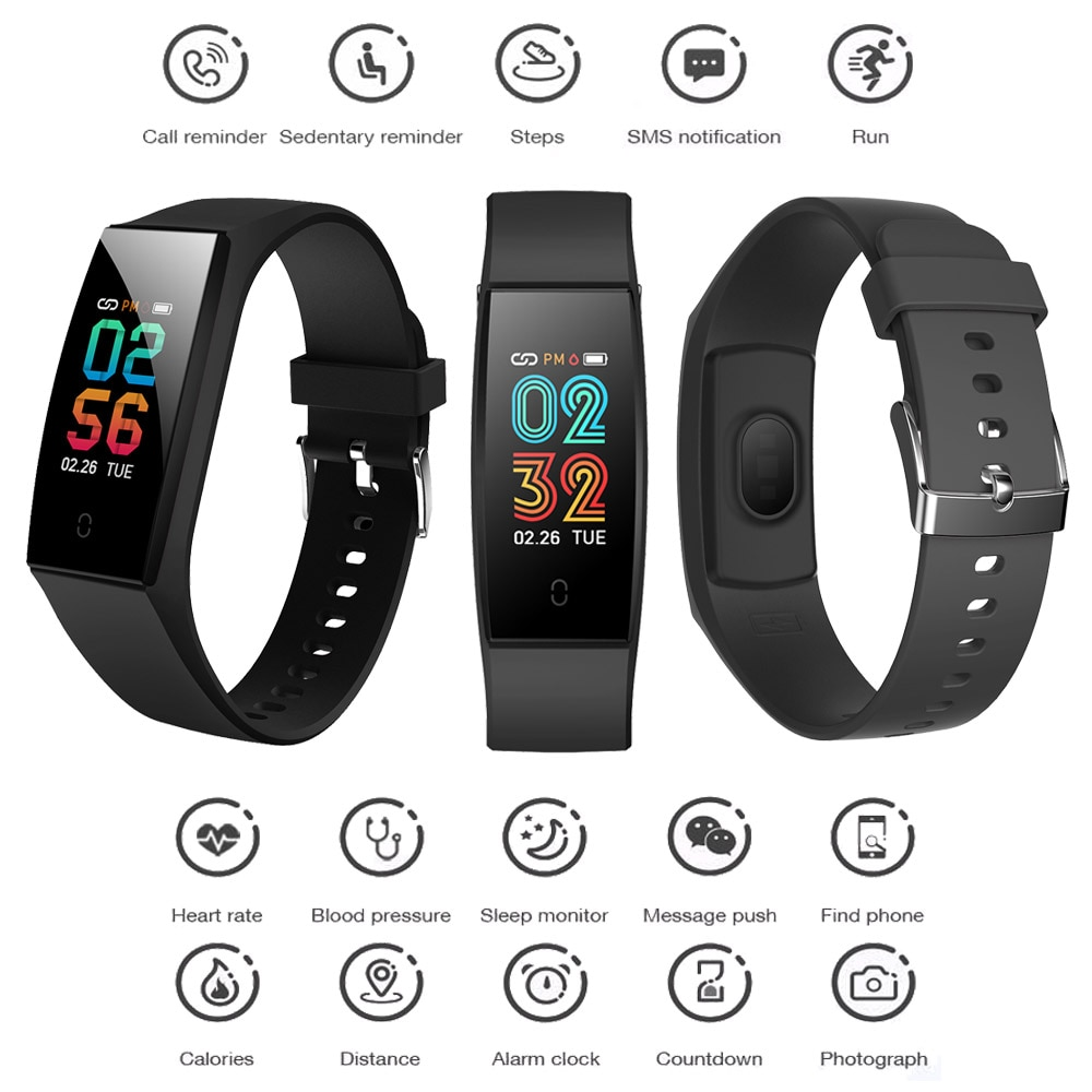 Montre intelligente Hommes смарт часы Bracelet Montre фитнес браслет Pression Artérielle Fréquence Cardiaque pour OnePlus 7T 7T Plus 7 Pro 7 6T 6 5T 3T 3