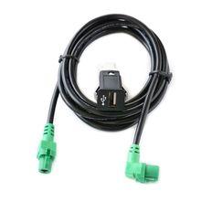 USB Switch Socket Wire Cable Harness For BMW E60 E81 E70 E90 F12 F30 F10 F25 U1JF