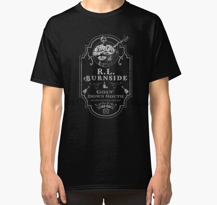 Men tshirt RL Burnside Goin Down South Tribute Classic T Shirt Printed T-Shirt tees top