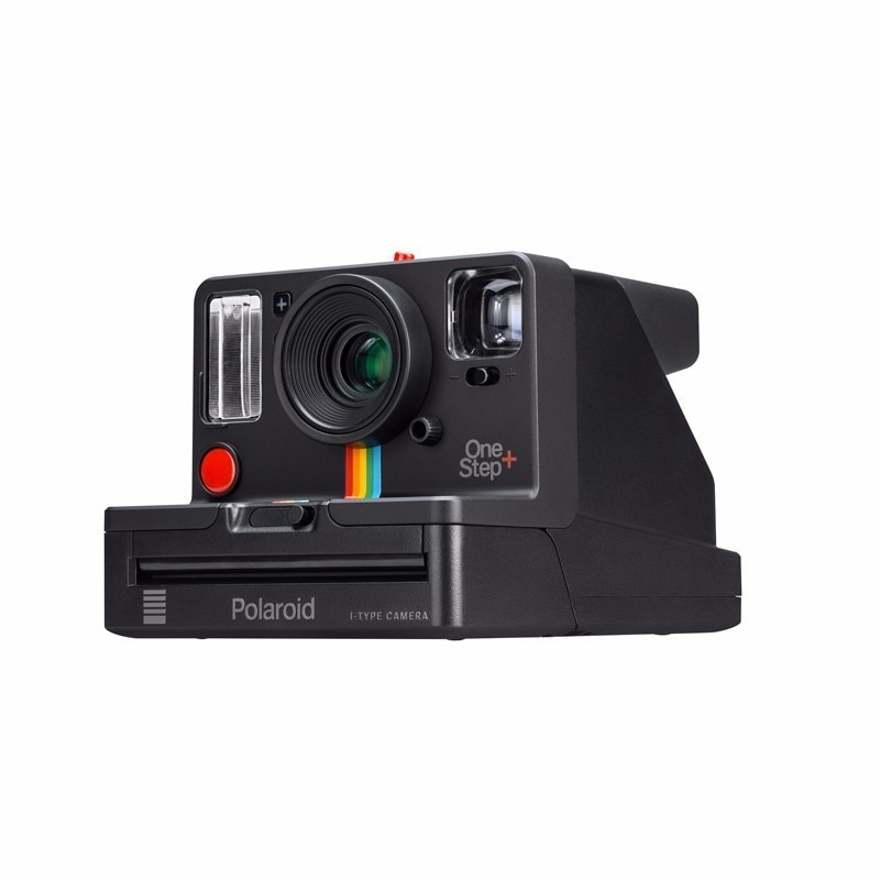 The hot spot Polaroid photograph the Onestep2 VF + of Rider's rainbow camera for once imaging in black and white