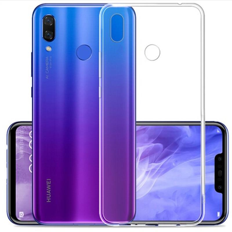 Luxury Rubber TPU Silicone Soft Back Case Cover For HuaWei NOVA 5 Pro NOVA 3E NOVA 4 Anti knock Phone Case For HuaWei NOVA 5i