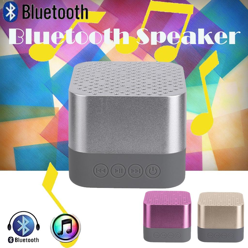 Altavoz inalámbrico Portátil con Bluetooth, dispositivo De sonido estéreo Sdcard para Smartphone,...