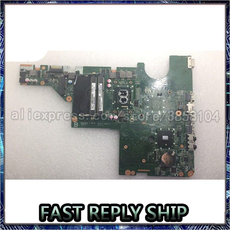 SHELI para HP Pavilion G62 G42 placa base Hm55 con i3-370M CPU 637583-001 DAAX1JMB8C0