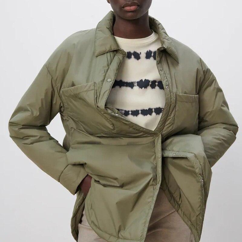 قميص نسائي غير رسمي فضفاض ملابس خارجية عتيقة كم طويل شقوق سترات سترات معاطف نسائية كبيرة معاطف متينة جديدة
