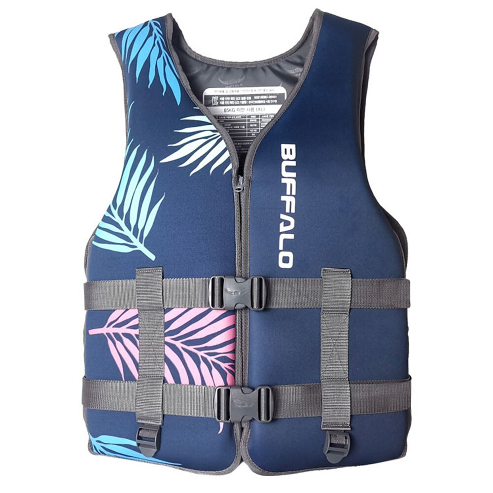 Neoprene life vest children/adult boating rafting water skiing safety jacket buoyancy swimsuit professional rafting life jacket