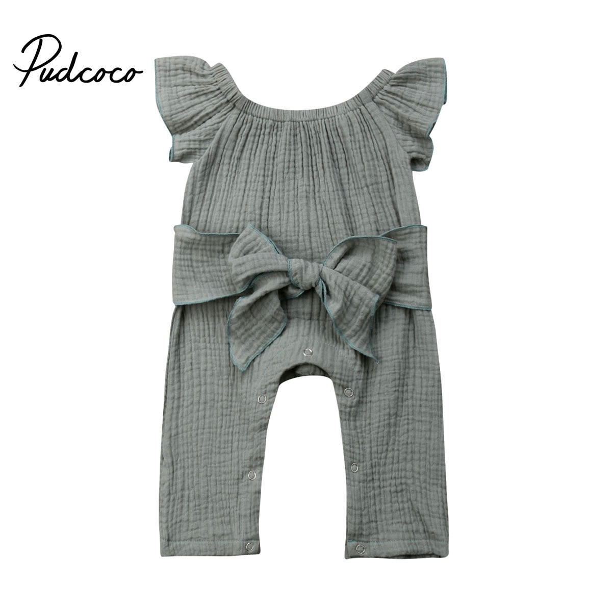 2020 moda verano recién nacido chico s bebé algodón Niña ropa Boho sin mangas mameluco para niño mono trajes Sunsuit 0-24M