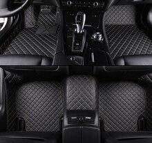 Para BMW 3 E21 E30 E36 E46 E90 E91 E92 E93 F30 F31 F34 F35 G20 G21 Custom Tapetes Do Carro styling acessórios do carro esteiras pé