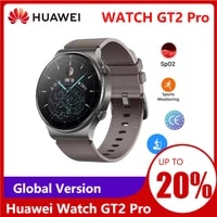 global version huawei watch gt2 pro smart watch built in gps 14 days battery life water proof heart rate tracker android ios