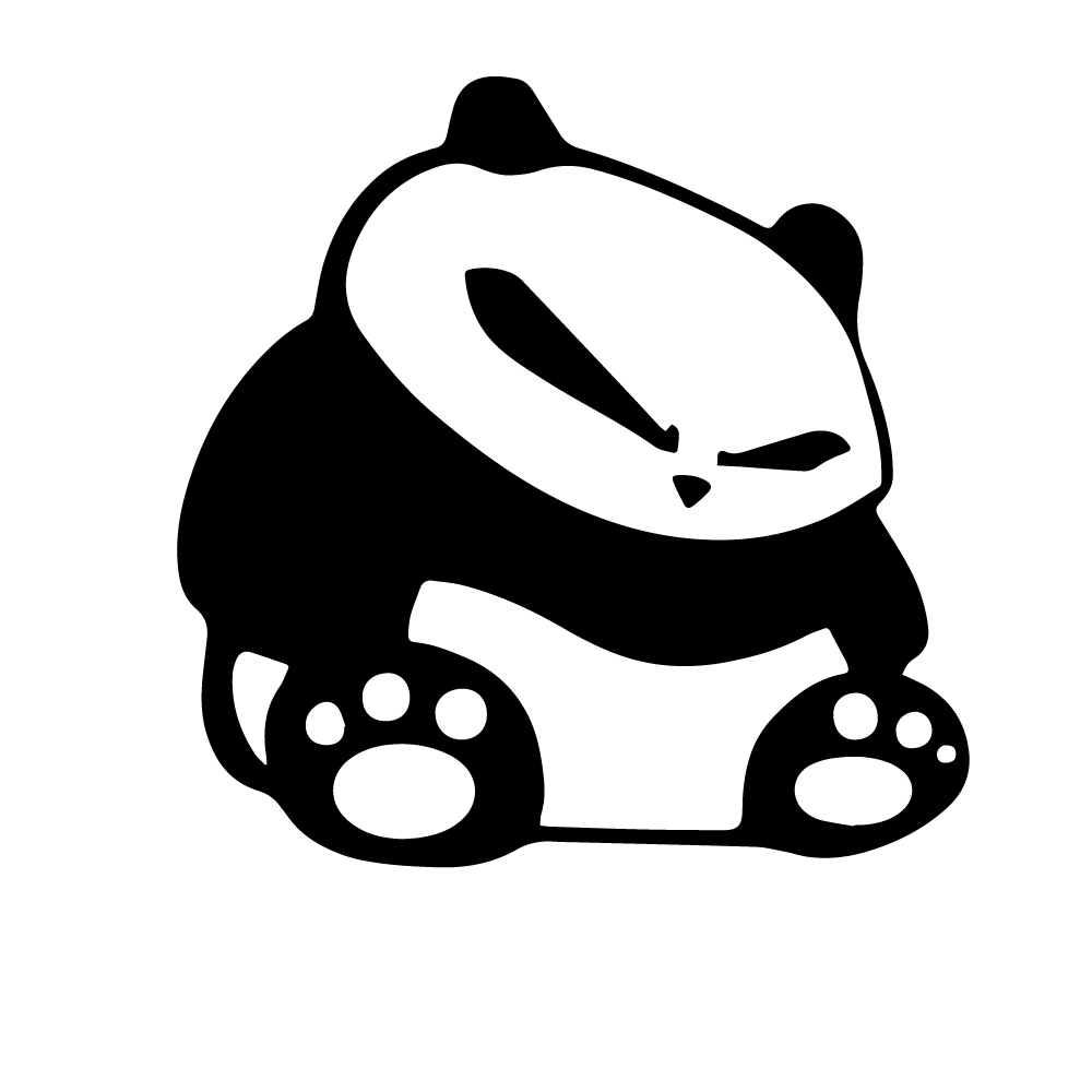 Двери автомобиля PANDA Авто наклейки на автомобиль забавного яркого Авто наклейки автомобильные отличительные знаки