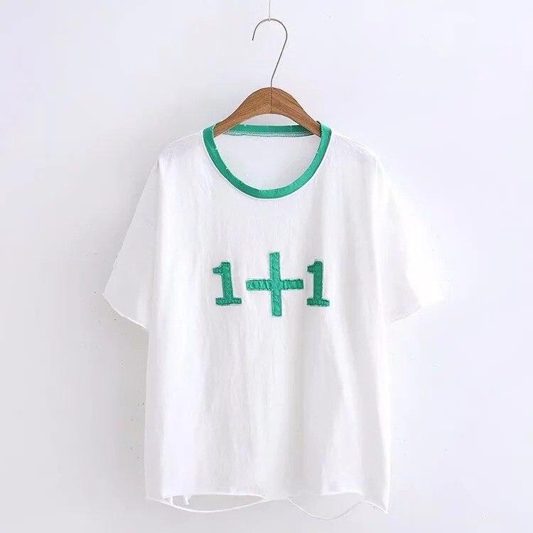 New Women T Shirt  Print Cotton O-Neck Summer Style Female T-Shirt fashion Clothes