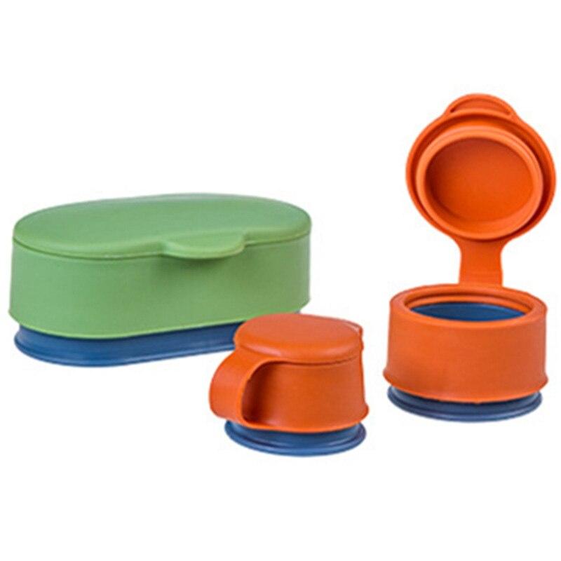 Scellant à capuchon détanchéité à boucle magique avec couvercle trois tailles emballage alimentaire en Silicone gardant des outils de cuisine à joint frais