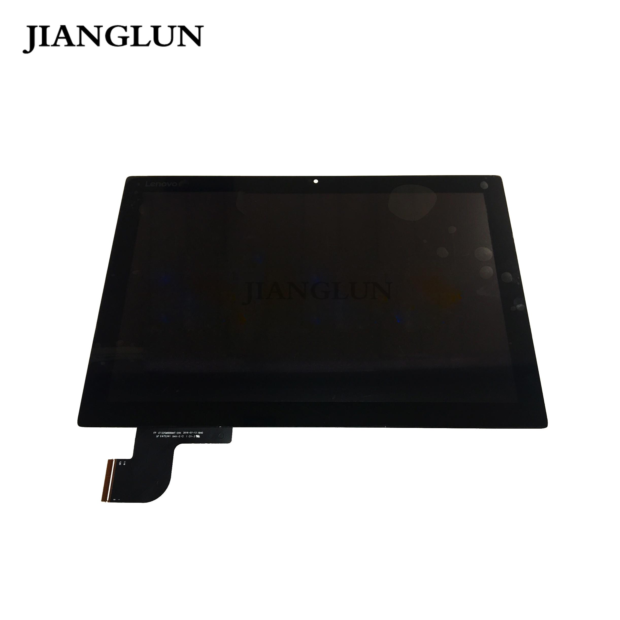 JIANGLUN para Lenovo IdeaPad Miix 510-12ISK 510-12IKB LCD montaje de pantalla táctil con marco con tablero táctil
