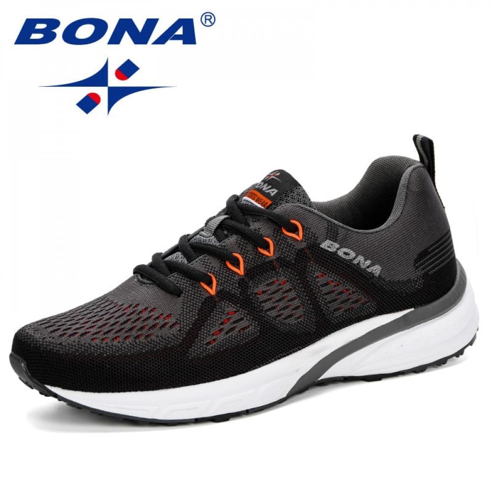 بونا-أحذية رياضية شبكية للرجال ، أحذية ركض خفيفة الوزن ، أحذية رياضية خارجية