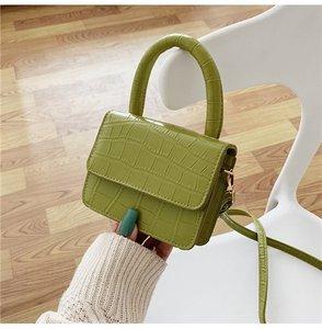 Mini Stone Pattern Totes For Women 2020 Crossbody Shoulder Messenger Handbags Lady Travel Cross Body Bag one shoulder bag