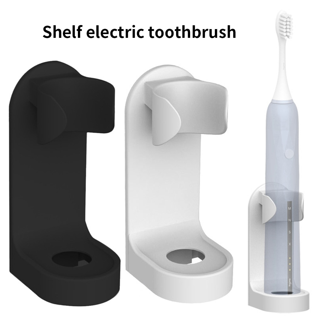 Hot Sale1PC Toothbrush Stand Rack Organizer Electric Toothbrush Wall-Mounted Holder Space Saving Bat
