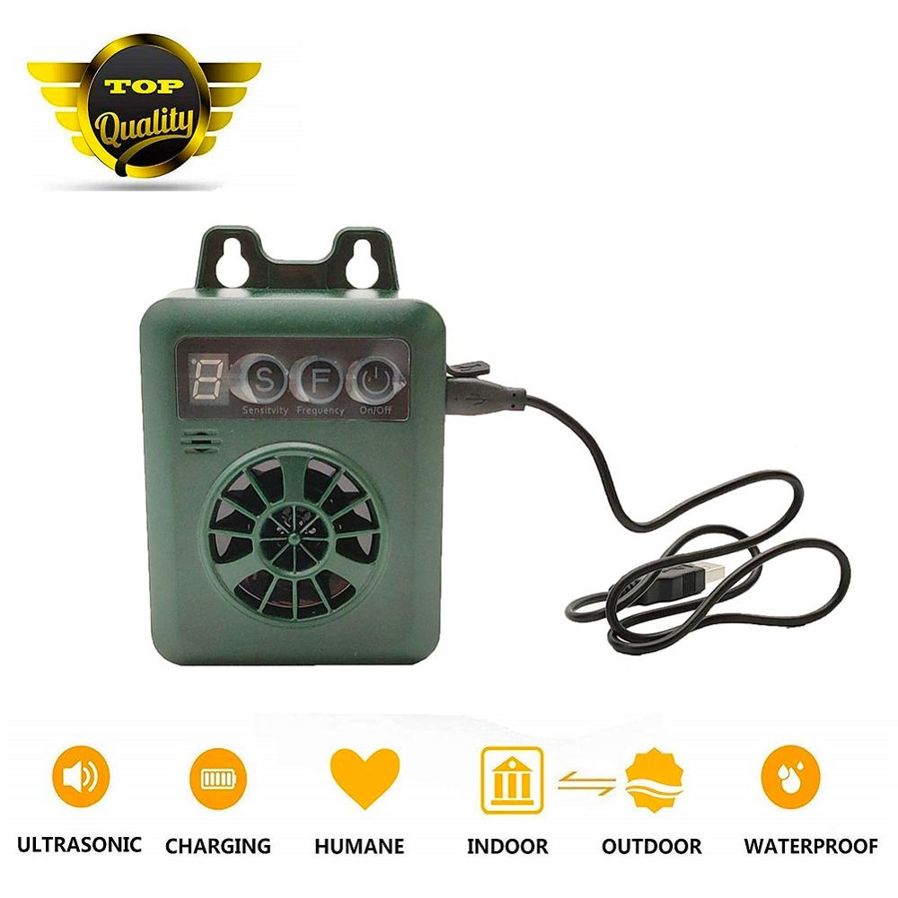 Hund Antibell Ultraschall Mini Hund Repeller Sonic Sound Anti-rinde Abschreckung Outdoor Doggy Training Tools bis zu 50 FT Bereich