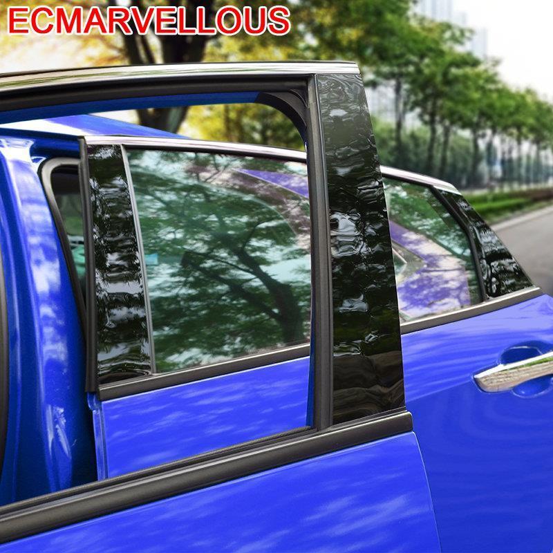 Cuerpo de ventana para automóvil modificado cromado decorativo, decoración de coche, cubiertas protectoras de modificación 16 17 para Honda Civic