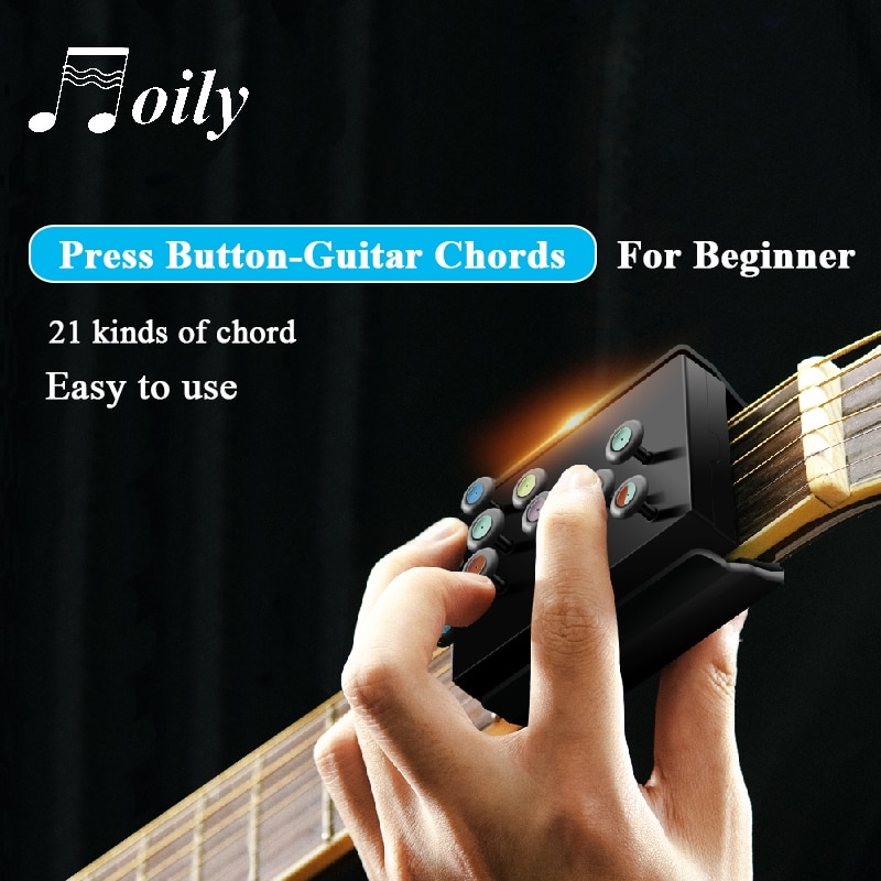 Dropshipping Guitar Chords Beginner Teaching Aid Learning System Guitar Trainer Practice Acoustic Guitar Accessories Chord Buddy enlarge