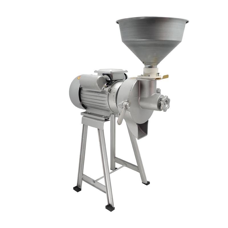 طاحونة الحبوب المنزلية ماكينة تصنيع حليب فول الصويا التجارية اللب مطحنة صانع زبدة الفول السوداني الذرة طحن آلة طحن