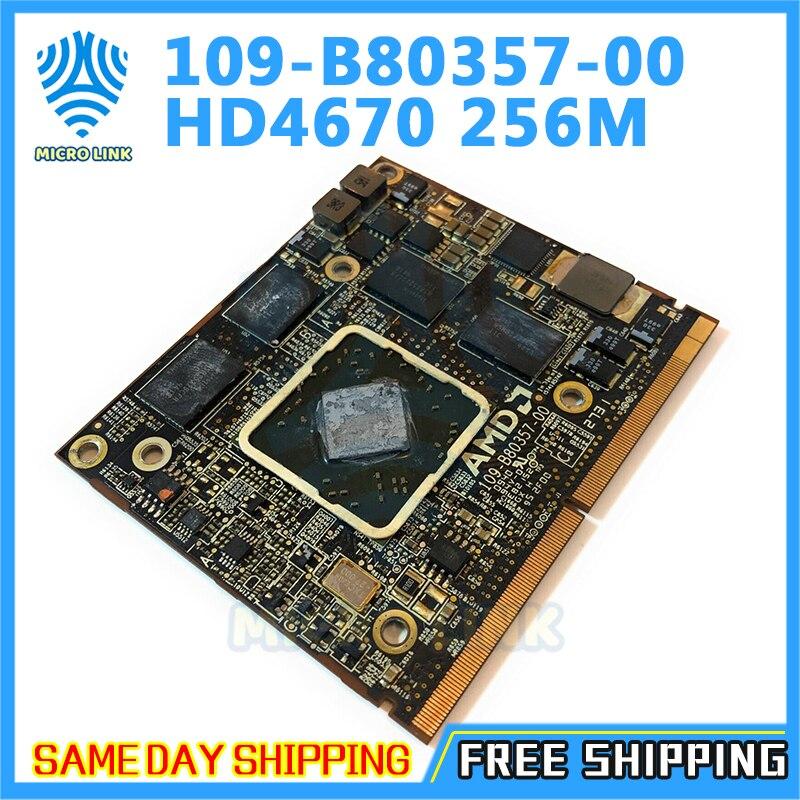 Para iMac 2010 2009 A1312 A1311 109-B80357-00 HD 4670 4670m HD4670 HD4670M 256MB Placa Gráfica De Vídeo Unidade Caso 216-0729051