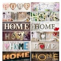Peinture diamant theme amour maison  broderie complete 5D  perles carrees ou rondes  points de croix  strass  mosaique  decoration dinterieur  bricolage