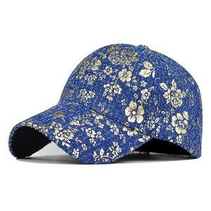 Women's Hat Men's Baseball Caps For Men New High Quality Printed Hip Hop Pure Cotton Gold Line Baseball Cap Male For Boy Brand