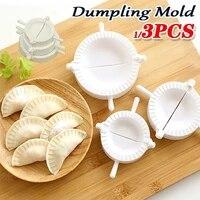 easy diy dumpling maker device dough press dumpling pie ravioli mold cooking pastry chinese food jiaozi maker kitchen tool