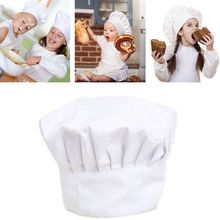 Baby Kids Apron White Chef Hat,Kitchen Children Cooking Play Costume Cap For Dress Up Chef Costume C