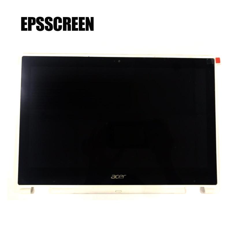 Nueva pantalla lcd para portátil compatible con ACER CHROMEBOOK R11 C738T, pantalla táctil digitalizada, pantalla HD de 30 Pines, color blanco