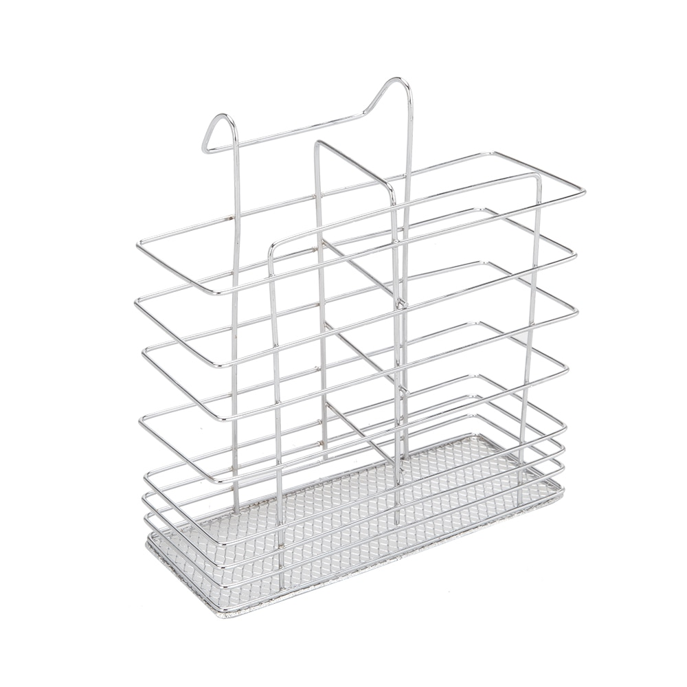Купить с кэшбэком Kitchen Organizer Holder Dual Layers Bowls Rack for Dishes Chopsticks Spoons Collection Shelf Dish Drainer with Water Tray