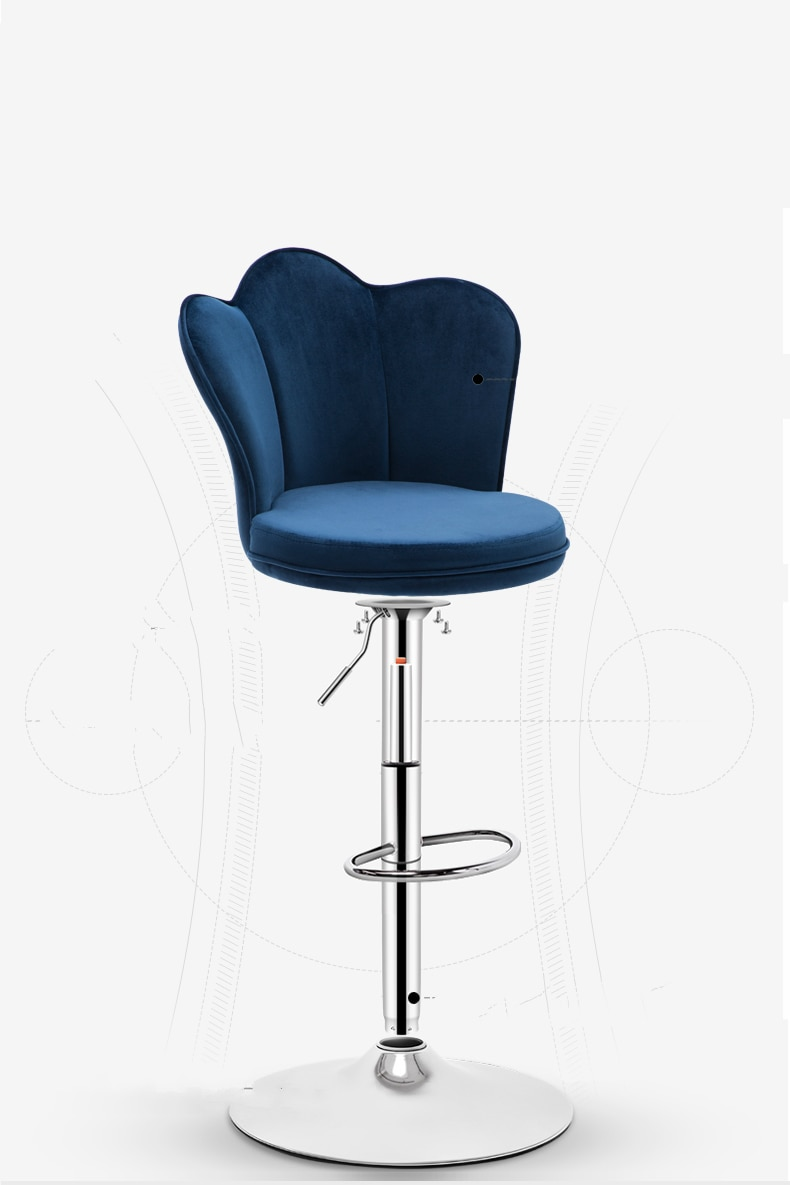 Taburete de elevación de silla de Bar taburete de bar sencillo taburete nórdico Silla de bar taburete alto silla para barra en casa