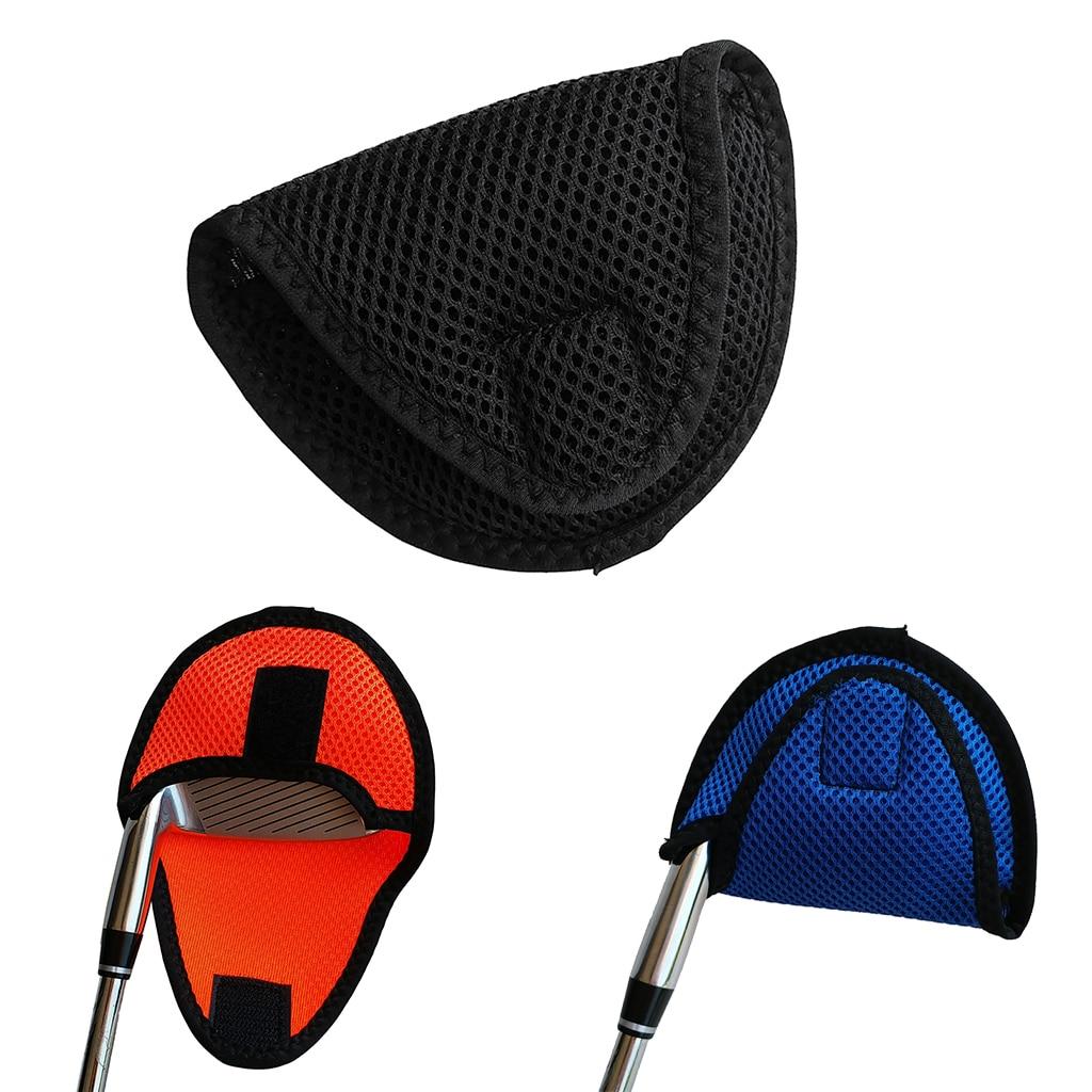 Cubierta de cabeza de eje central Universal mazo Putter cubierta protectora-colores para elegir