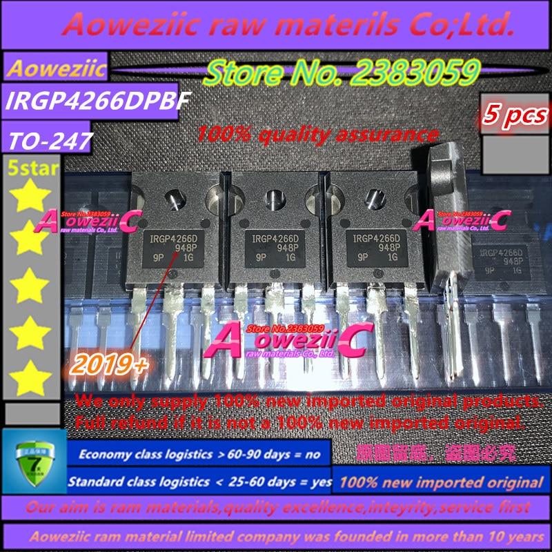 Aoweziic 2019 + 100 ٪ جديد الأصلي المستوردة IRGP4266DPBF IRGP4266D IGBT ترانزستور بتأثير حقل 650 فولت 140A 455 واط