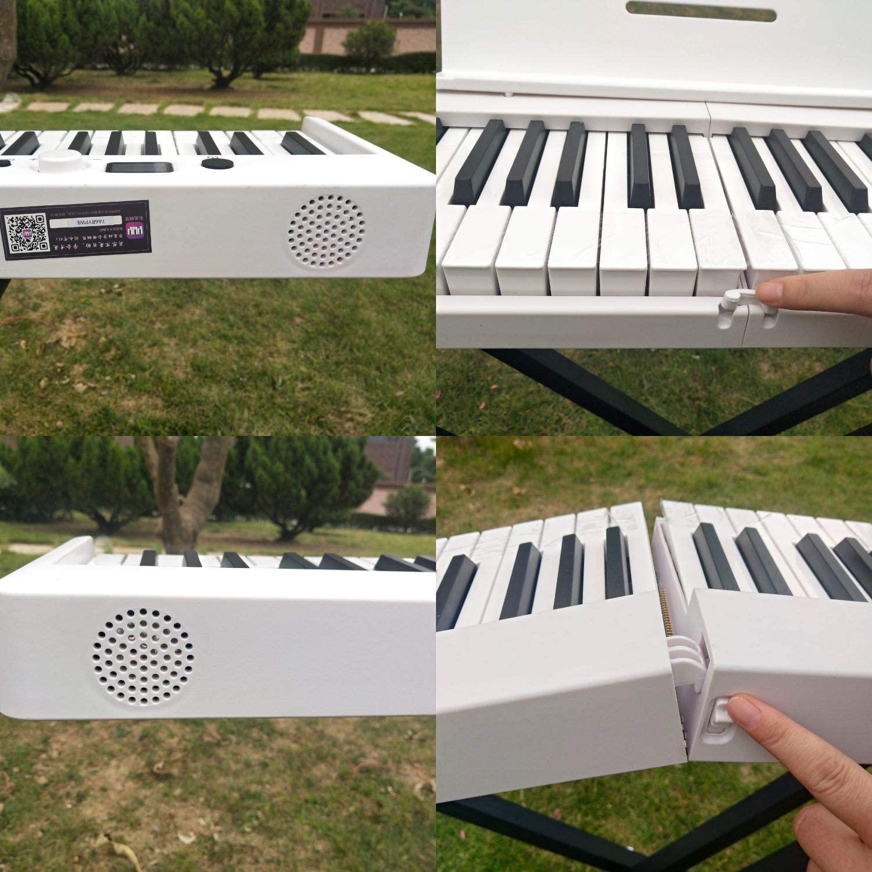usb midi controller digital piano  88 key  Flexible fold professional elctronic piano keyboard enlarge