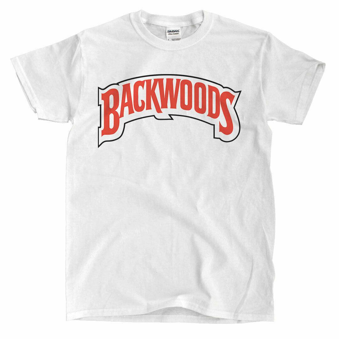 Camiseta blanca con Logo Backwoods