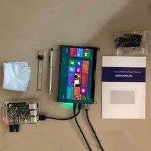 7 pollici Raspberry Monitor dello schermo lcd touch screen capacitivo 1024*600 HDMI interfaccia USB tocco per il Raspberry PI 3 4 Finestre